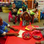 children learning counting