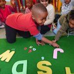 children learning alaphabet